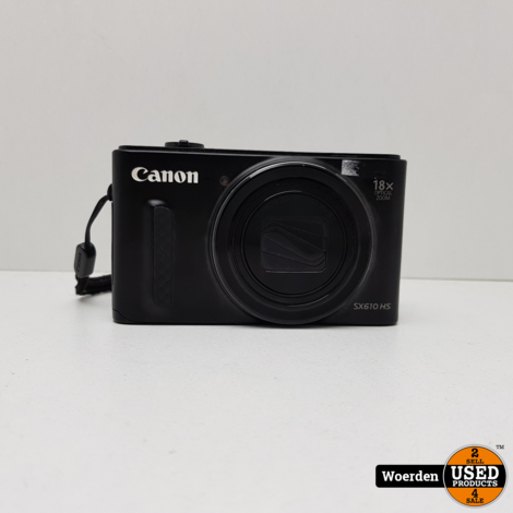 Canon SX610 HS camera || met garantie ||