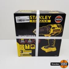 Stanley 18V Boormachine Nieuw in doos met Garantie