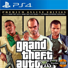 Playstation 4 PS4 Game: Grand Theft Auto GTA V