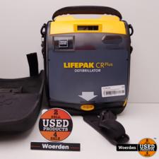 AED Lifepak CR Plus Defibrillator Nette Staat met Garantie