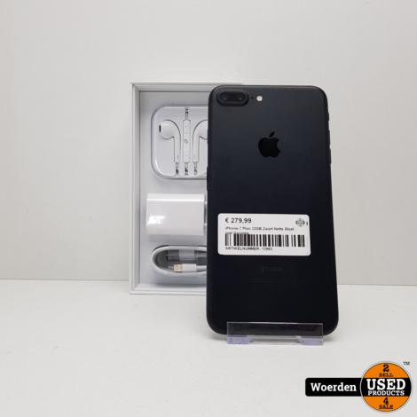 iPhone 7 Plus 32GB Zwart Nette Staat met Garantie