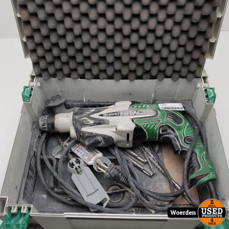 Hitachi Boorhamer DH24PB3 in Koffer met Garantie