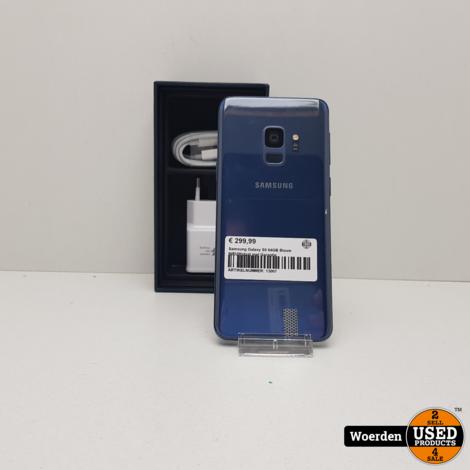 Samsung Galaxy S9 64GB Blauw NIEUWstaat met Garantie