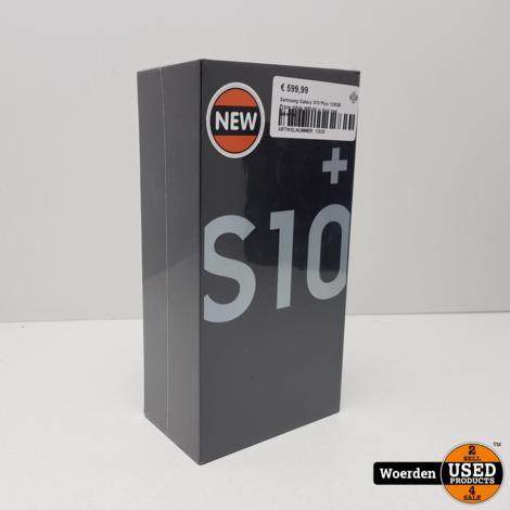 Samsung Galaxy S10 Plus 128GB Prism White NIEUW in Seal met Garantie