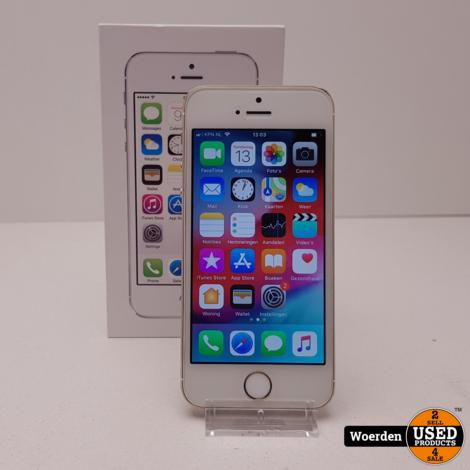 iphone 5s 16GB Goud in Nette Staat met Garantie