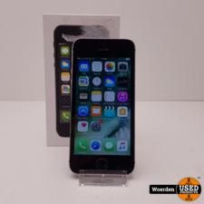 iPhone 5S 32GB Space Gray incl Oplader met Garantie