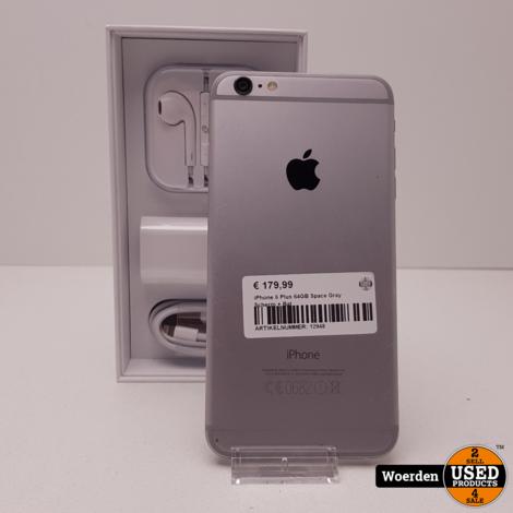 iPhone 6 Plus 64GB Space Gray Scherm + Bat