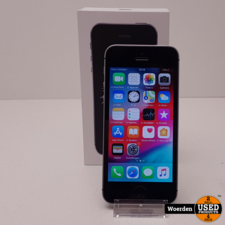 iPhone SE 128GB Space Gray Nette Staat met Garantie