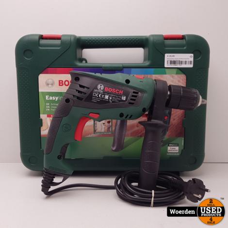 Bosch Easy Impact 550 Boormachine in Koffer met Garantie