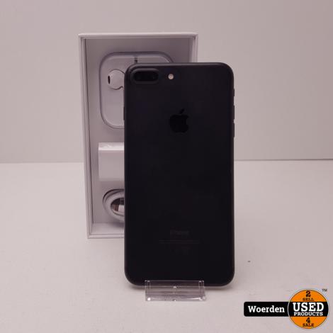iPhone 7 Plus 32GB Zwart NIEUWE ACCU met Garantie