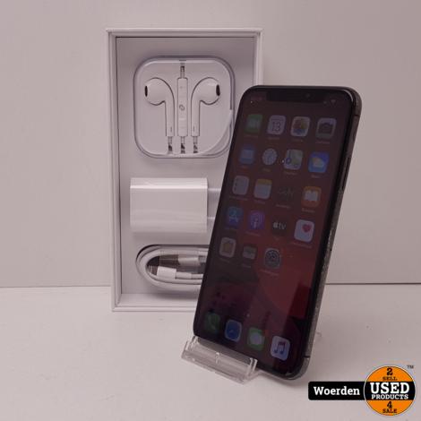 iPhone X 64GB Space Gray Nette Staat met Garantie