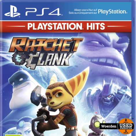 PS4 Game Ratchet Clank | Nieuw in seal | Met garantie