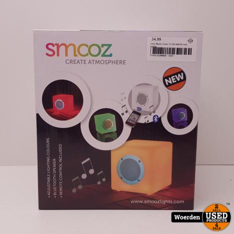 Smooz Music Cube 15 Wit NIEUW met Garantie