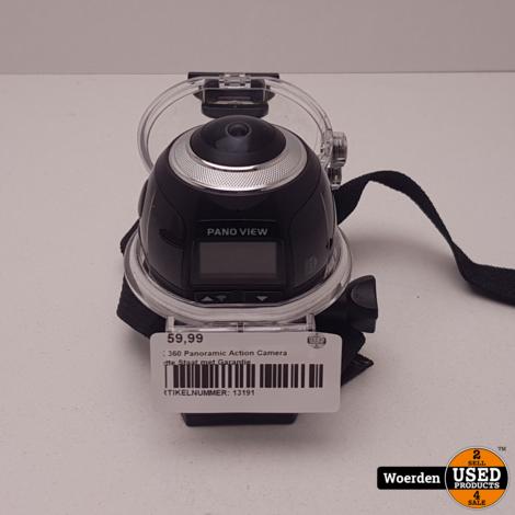 4K 360 Panoramic Action Camera Nette Staat met Garantie