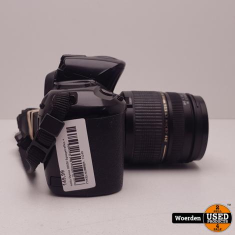 Minolta Dynax 800SI Spiegelreflex + Tamron 28-300mm Met Garantie