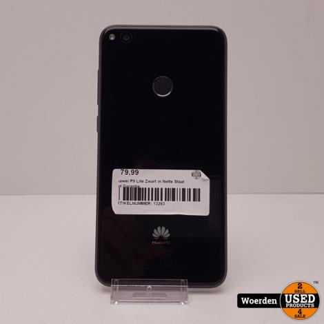 Huawei P9 Lite Zwart NIEUWstaat met Garantie