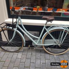 Spirit Transporter Damesfiets Blauw in Nette Staat met Garantie