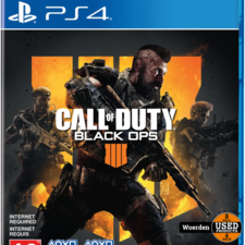 Playstation 4 PS4 Game: Call of Duty Black Ops 4