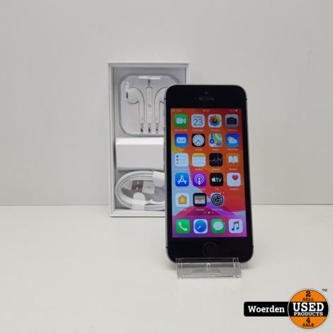iPhone SE 64GB incl Oplader met Garantie