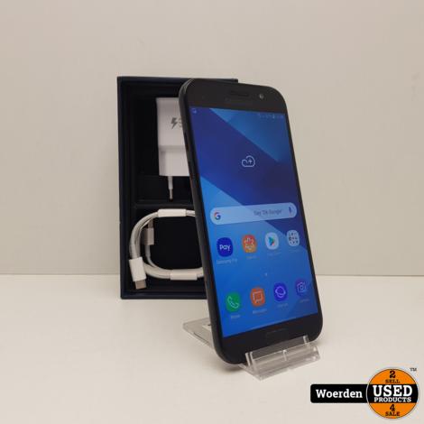Samsung Galaxy A5 2017 Zwart Nette Staat met Garantie