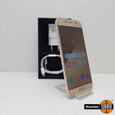 Samsung Galaxy A5 2017 32GB Goud Nette Staat met Garantie