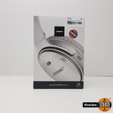 Bose Quietcomfort 35 II Zilver NIEUW met Garantie