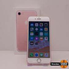 iPhone 7 256GB Rosegoud Nette Staat met Garantie