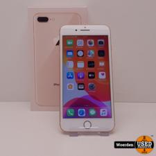 iPhone 8 Plus 64GB Goud incl Oplader met Garantie