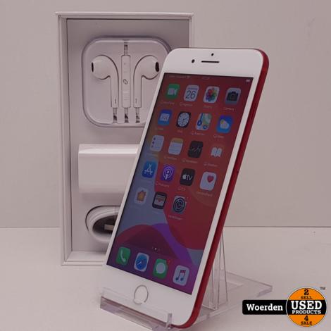 iPhone 7 Plus 256GB Rood incl Oplader met Garantie