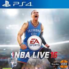 Playstation 4 PS4 Game: NBA live 16