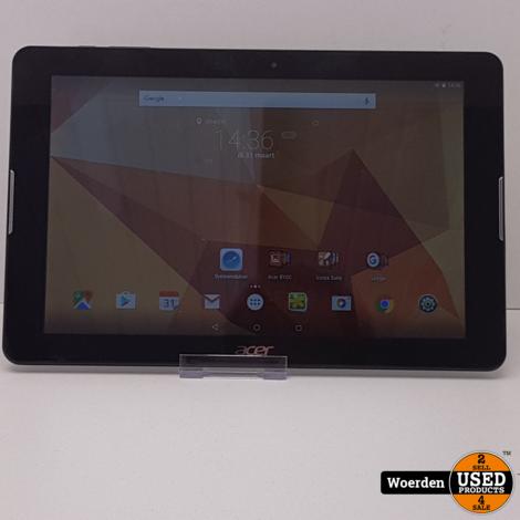 Acer Iconia One 10 B3-A20B Zwart in Nette Staat met garantie