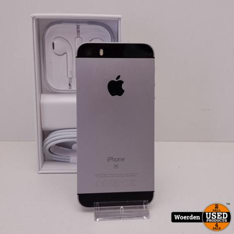 iPhone SE 32GB Space Gray NIEUWE ACCU met Garantie