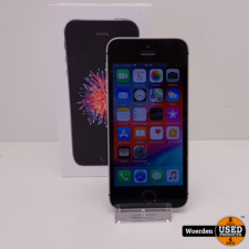 iPhone SE 16GB Space Gray NIEUWE ACCU met Garantie