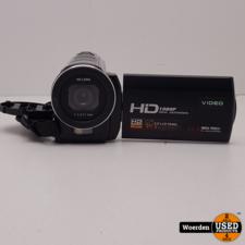 DVC Full HD 24Mp Videocamera incl accu + lader met Garantie