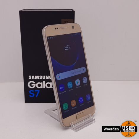 Samsung Galaxy S7 32GB Goud Nette Staat met Garantie