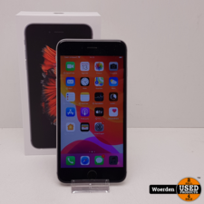 iPhone 6S Plus 64GB Space Gray Accu 98 met Garantie