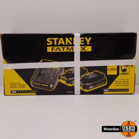 Stanley Fatmax FMC693D2 starterkit 18V NIEUW met Garantie