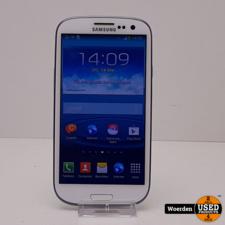 Samsung Galaxy S3 Wit Nette Staat met Garantie