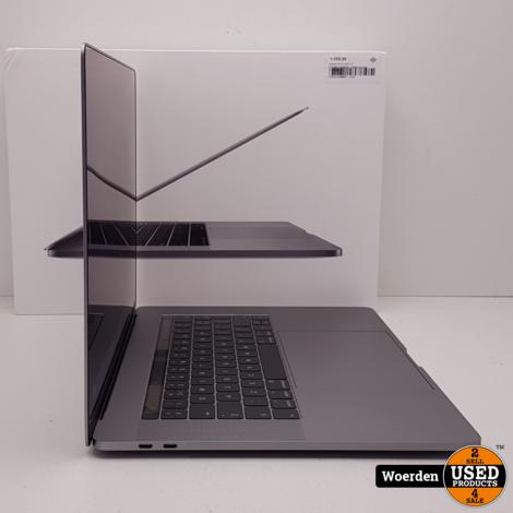 Macbook Pro 15 2017 i7 2.9|16GB|512GBSSD + BON Garantie tm 12-2020
