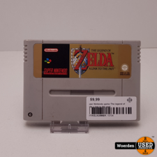 Super Nintendo game:The legend of zelda a link to the past