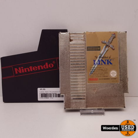 Nes game: Zelda 2 The adventure of link in Nette Staat met Garantie
