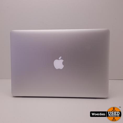Macbook Pro 2013 15 i7 2.4|16GB|256GSSD NIEUWE ACCU met Garantie
