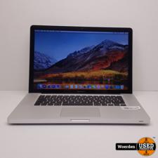 Macbook Pro 2011 15 i7 2.2Ghz|4GB|500GB met Garantie