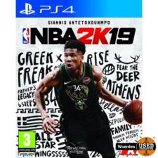 Playstation 4 PS4 Game: NBA 2K19
