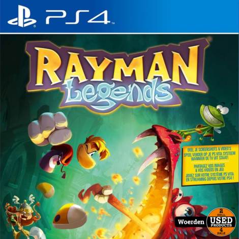 Playstation 4 PS4 Game: Rayman Legends