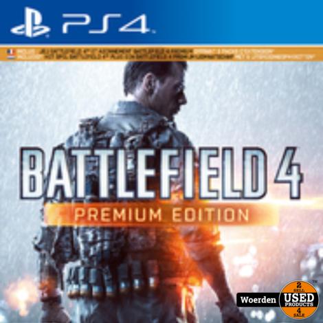 Playstation 4 game: Battlefield 4 premium edition