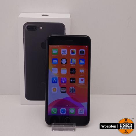iPhone 7 Plus 128gb Zwart in Nette Staat met Garantie