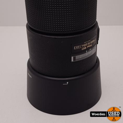 Nikon AF Nikkor 80-200mm F2.8D ED Lens Schuifzoom met Garantie
