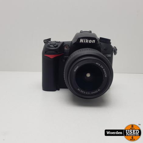 Nikon D7000 Body Camera Nette Staat met Garantie