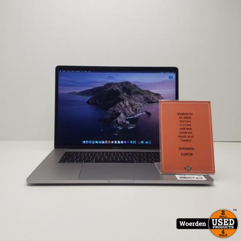 Macbook Pro 2016 15 Touchbar i7|16GB|512SSD| Met Garantie